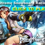 Project Powder MMO Snowboard Racing Game